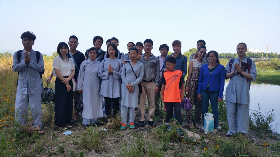 Phật tử Viện Chuyên Tu tại Hàn Quốc tổ chức Khóa tu một ngày an lạc tháng 6-2015