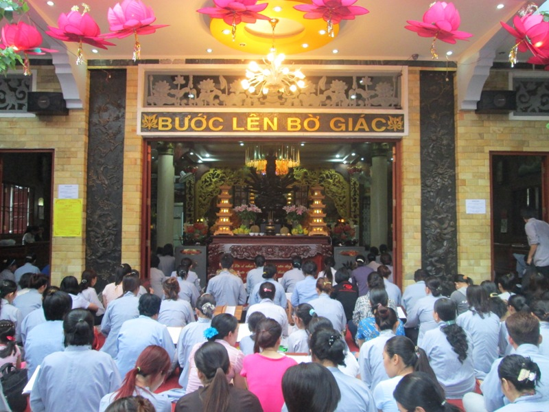 ĐĐ Thích Thiện Thuận giảng tại Chùa Minh Đạo 6/2013