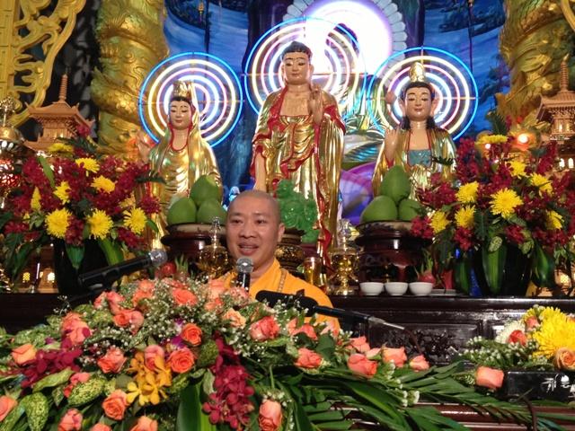 ĐĐ Thích Thiện Thuận giảng tại Chùa Minh Đạo 6-7-2013