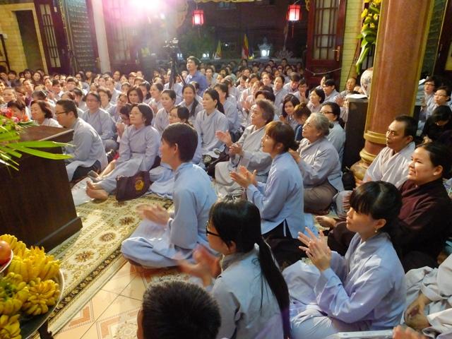 ĐĐ Thích Thiện Thuận Thuyết Giảng Tại Chùa Minh Đạo Ngày 14-3-2014