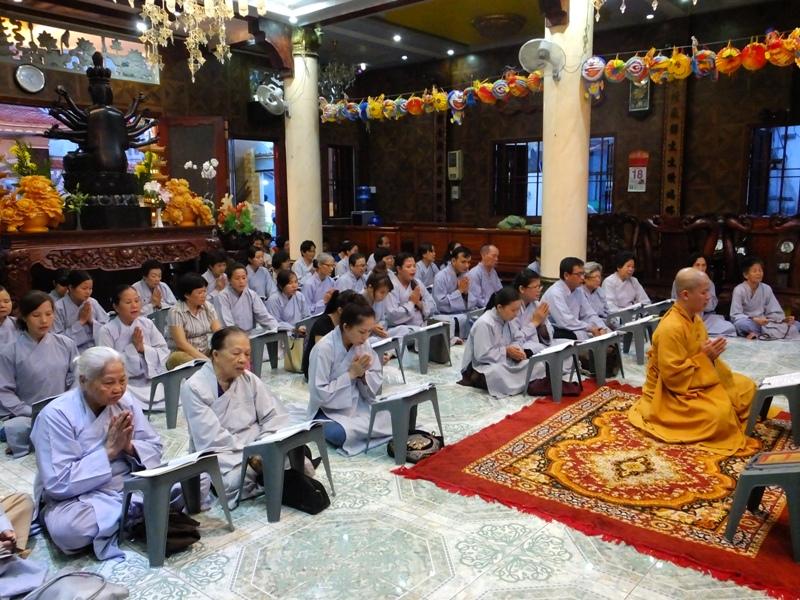 ĐĐ Thích Thiện Thuận Thuyết giảng tại Chùa Minh Đạo 4-9-2013