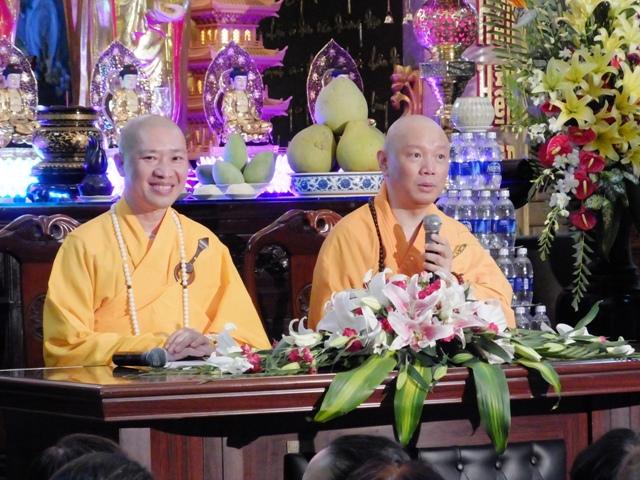 Buổi thuyết giảng tại chùa Minh Đạo ngày 28-4-2014