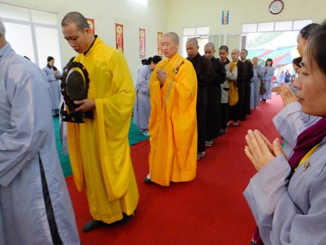 Thích Thiện Thuận Thuyết giảng tại Chùa Tiêu Lương Hải Phòng