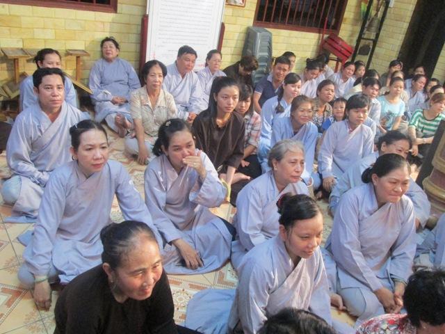 ĐĐ Thích Thiện Thuận thuyết giảng tại Chùa Minh Đạo 3/2013