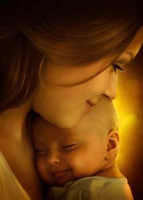 Cho con mơ thấy mẹ