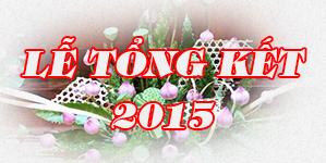 Tổng kết năm 2015
