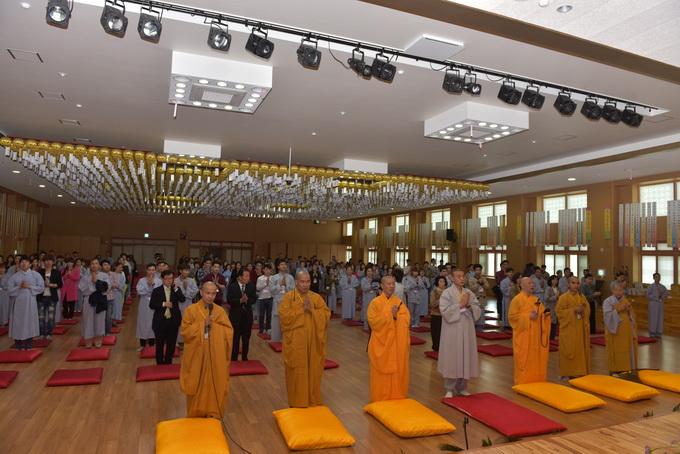 Chương trình khóa tu học Phật pháp tại Hàn Quốc lần thứ 4