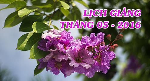 Thông báo – V/v hủy lịch giảng tại chùa Phước Ân
