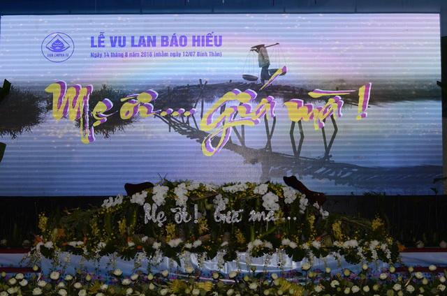 Lễ Hội Vu lan tại Viện Chuyên Tu