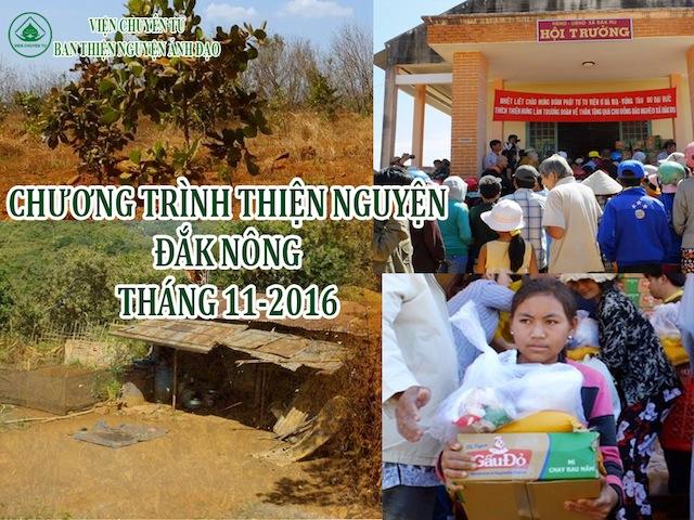 Chương trình phát học bổng tại Đắk Nông