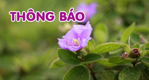 Thông báo – V/v hủy lịch giảng tại chùa Hùng Nhĩ Sơn