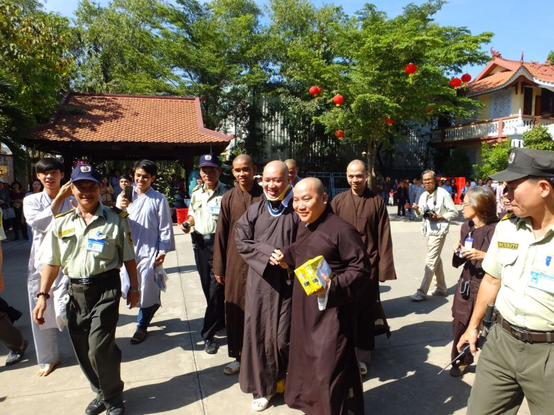 """TT. Thích Thiện Thuận thuyết giảng pháp thoại """"Mùa xuân của người học Phật"""""""