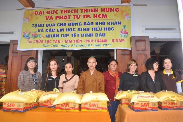 Chuyến từ thiện nhân dịp đầu năm 2017 tại Quảng Nam