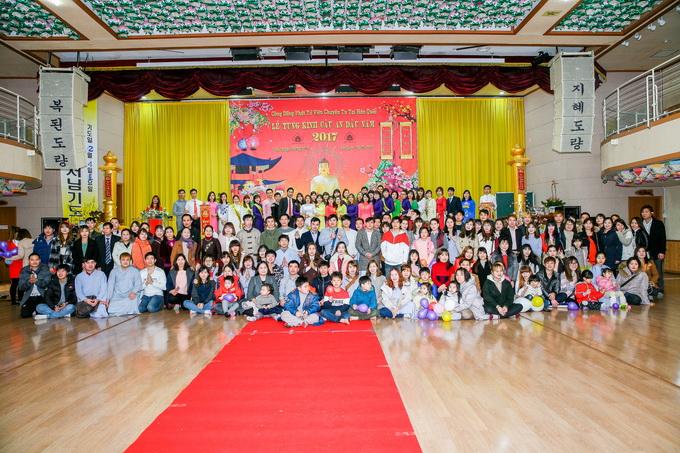Hàn Quốc: Cộng đồng Phật tử Viện Chuyên Tu tổ chức lễ cầu an đầu năm