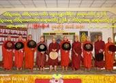 Miến Điện: Chư thiên, nhân loại chào đón chính thức Ngài Tam Tạng thứ 14