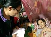 BTN Ánh Đạo thăm bệnh nhân ung thư tại Long An