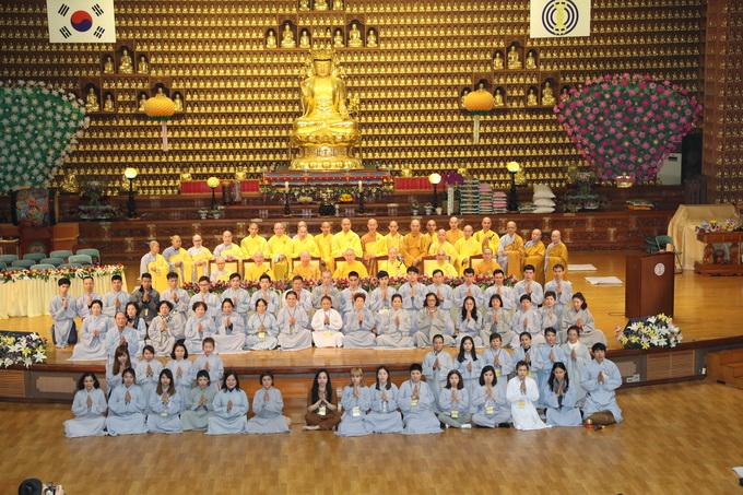 Ngày thứ hai, khóa tu học lần thứ 5 tại Hàn Quốc