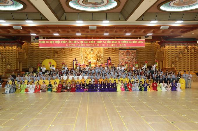 Ngày thứ ba, Lễ khai mạc khóa tu học lần thứ 5 , kì 2 tại Hàn Quốc