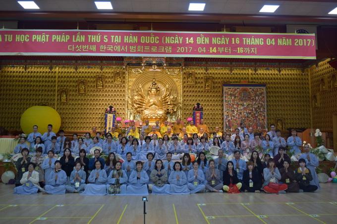 Ngày thứ hai, Khóa tu học Phật pháp lần thứ 5 kì 2 tại Hàn Quốc – Phần 2