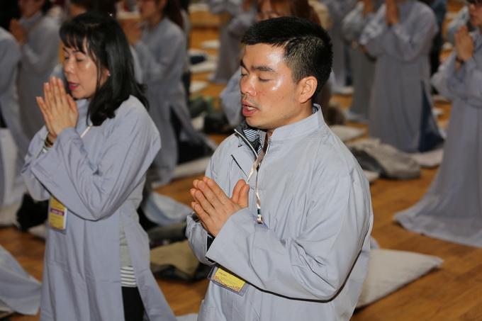 Lễ Quy y Tam bảo – khóa tu học Phật pháp lần thứ 5 tại Hàn Quốc