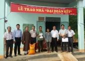 BTN Ánh đạo trao nhà tình thương tại Bình Phước