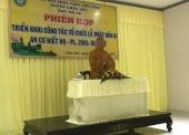 TT. Thích Thiện Thuận giảng tại trường hạ chùa Như Ý, huyện Châu Đức