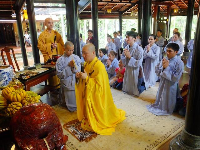 Bộc bạch của người Phật tử mới vào đạo