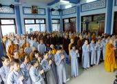 BTN Ánh Đạo báo cáo thu chi cúng dường Trường Hạ 2017