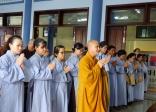 BTN Ánh Đạo cúng dường trường hạ tại chùa Liên Trì