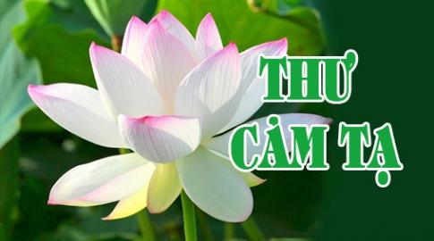 THƯ CẢM TẠ – V/v: Ủng hộ Hội trại Tuổi trẻ – Phật giáo, lần thứ XI năm 2017