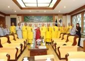 Buổi gặp gỡ thâm tình với Trưởng lão HT. Chun Gwang, Phó chủ tịch Giáo hội Phật Giáo Hàn Quốc, Tổng vụ Viện trưởng Thiên Thai Tông