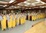 Ngày đầu tiên Khóa tu học Phật pháp lần thứ 6 tại Hàn Quốc