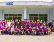 Phân ban Ánh Đạo Bình Dương tặng quà tại trại điều dưỡng tâm thần Tân Định