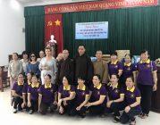 BTN Ánh Đạo tặng quà tại Bà Rịa Vũng Tàu, phóng sanh tại Bến Tre