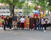 BTN Ánh Đạo tặng quà tết đến các cháu Bệnh viện Nhi Đồng 2
