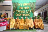 """Đạo tràng Khánh Hỷ – Chùa Bửu Lâm tổ chức Lễ kỷ niệm: """"20 năm một chặng đường""""."""