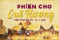 Danh sách Quầy hàng Phiên Chợ Quê Hương 2018